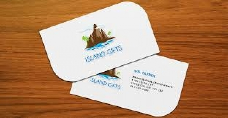 Cartão de Visita para Jornalista Jardim Marajoara - Cartão de Visita para Salão de Cabeleireiro