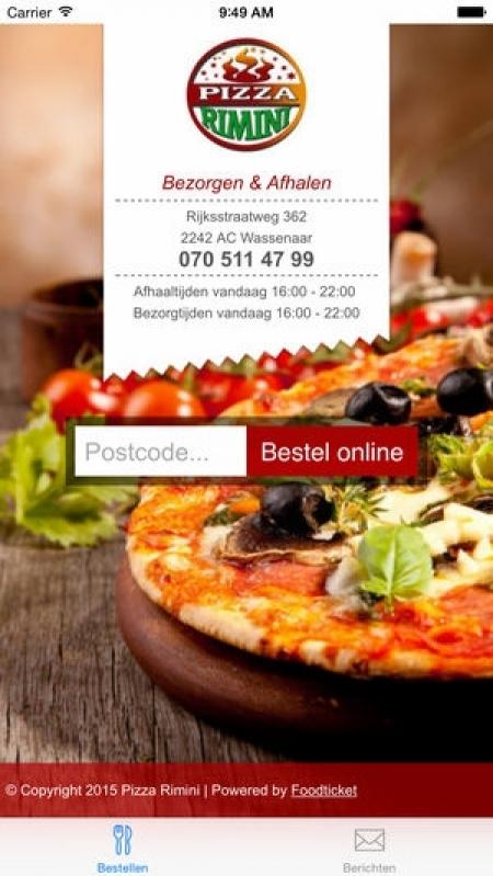 Folder para Pizzaria São Domingos - Folder para Aniversário