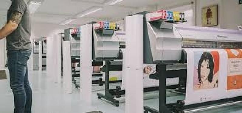 Gráfica para Impressão Digital Conferência de Cores Alto de Pinheiros - Impressão Digital Pequenas Tiragens