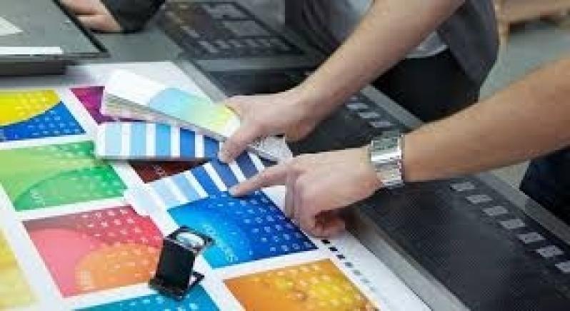 Impressão Offset para Empresa Mandaqui - Impressão Offset Adesivo