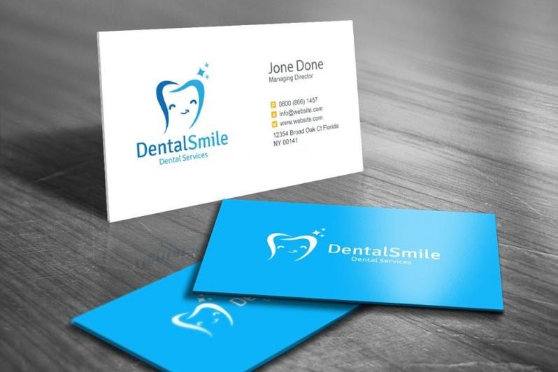 Onde Comprar Cartão de Visita Odontologia Pacaembu - Cartão de Visita para Jornalista