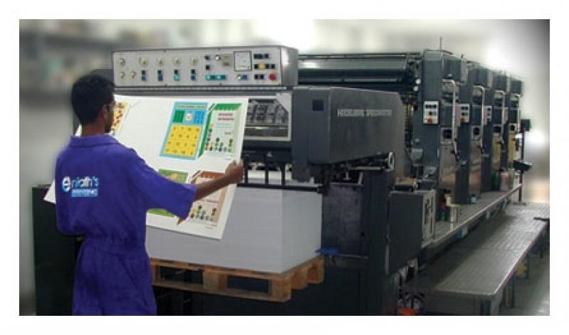 Orçamento de Impressão Offset Empresa Santa Cruz - Impressão Offset Digital