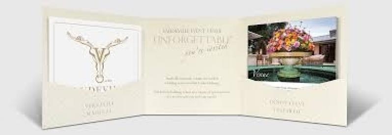 Quanto Custa Folder para Eventos Jardim Paulista - Folder para Aniversário