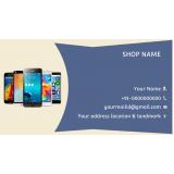 cartão de visita para loja de celulares