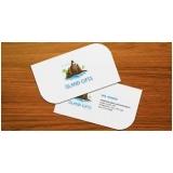 cartão de visita para jornalista Campo Grande
