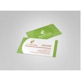 cartão de visita para nutricionista preço Guaianases