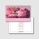 cartão de visita para padaria preço Sacomã