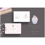 cartões de visita para padaria Vila Matilde