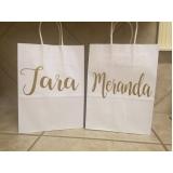 comprar sacolas personalizadas de papel para aniversário Parque do Carmo