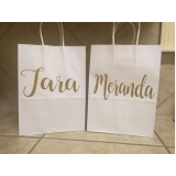 comprar sacolas personalizadas de papel para aniversário Santa Cruz