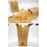 embalagens personalizada para batatas Ipiranga