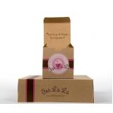 embalagens personalizadas para doces Aricanduva