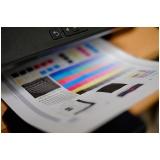 impressão digital no papel