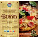 onde comprar folder para pizzaria Parque São Lucas