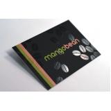 orçamento de cartão de visita com verniz Moema