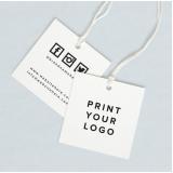 orçamento de tag para roupa personalizada Vila Pompeia