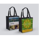 sacola personalizada reciclável Jockey Clube