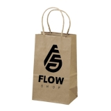 sacolas personalizadas de papel valor Água Funda