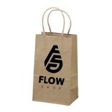 sacolas personalizadas de papel valor Santa Cruz