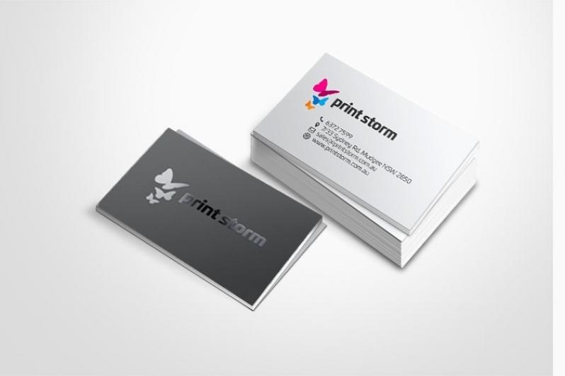 Cartão de Visita com Verniz Preço Vila Esperança - Cartão de Visita com Laminação Fosca