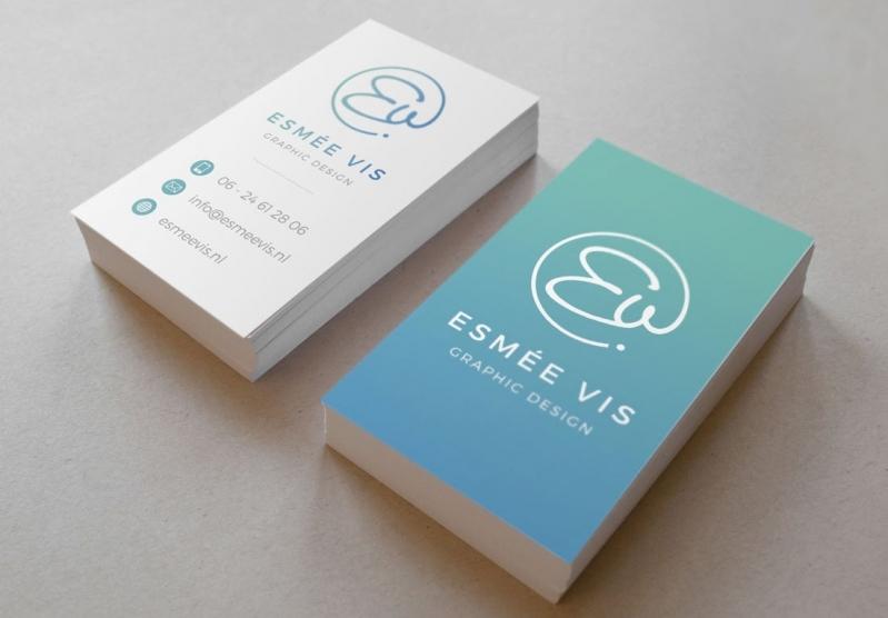Cartões de Visita com Verniz Vila Curuçá - Cartão de Visita para Nutricionista