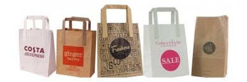 Comprar Sacolas Personalizadas Atacado Brooklin - Sacolas Personalizadas para Loja de Roupas