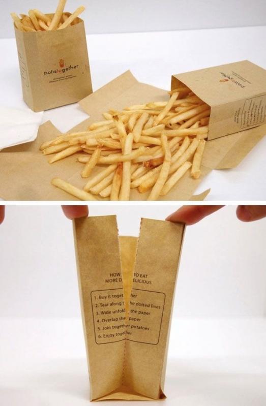 Embalagens Personalizada para Batatas Jaguaré - Embalagens Personalizadas para Hamburger