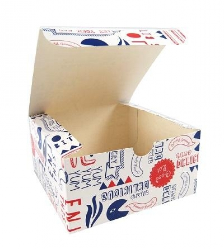 Embalagens Personalizadas para Hamburger Alto de Pinheiros - Embalagens Personalizadas para Bolo