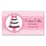 cartão de visita para padaria
