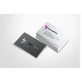 cartão de visita com verniz preço Penha