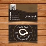 cartão de visita para lanchonete Jaguaré