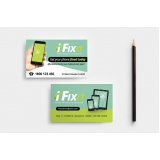 cartão de visita para loja de celulares preço Água Funda