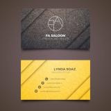 cartão de visita para loja de roupas Jabaquara