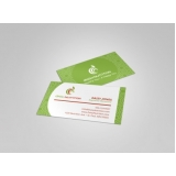 cartão de visita para nutricionista preço Santo Amaro