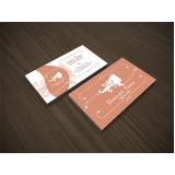cartão de visita para salão de cabeleireiro Campo Grande