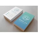cartões de visita com verniz Vila Curuçá