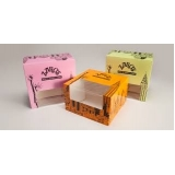 comprar embalagens personalizadas para bolo Santa Cruz