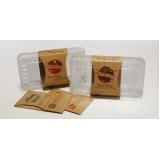 embalagem personalizada alimentos São Domingos