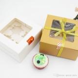 embalagem personalizada para bolo Casa Verde