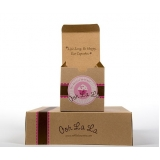 embalagens personalizadas para doces Raposo Tavares