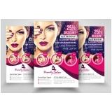folder para salão de beleza Itaim Bibi