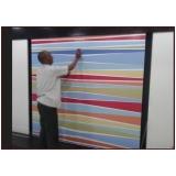 gráfica para impressão digital adesivo Parque do Carmo