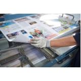 impressão offset e acabamento gráfico