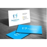 onde comprar cartão de visita odontologia Santana