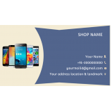 onde comprar cartão de visita para loja de celulares Jaraguá