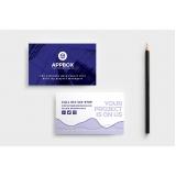 orçamento de cartão de visita para loja de celulares Vila Medeiros