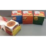 orçamento de embalagens personalizadas para hamburger São Caetano do Sul