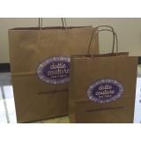 sacolas personalizadas para empresa Vila Esperança