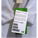 tag para loja de roupa Engenheiro Goulart